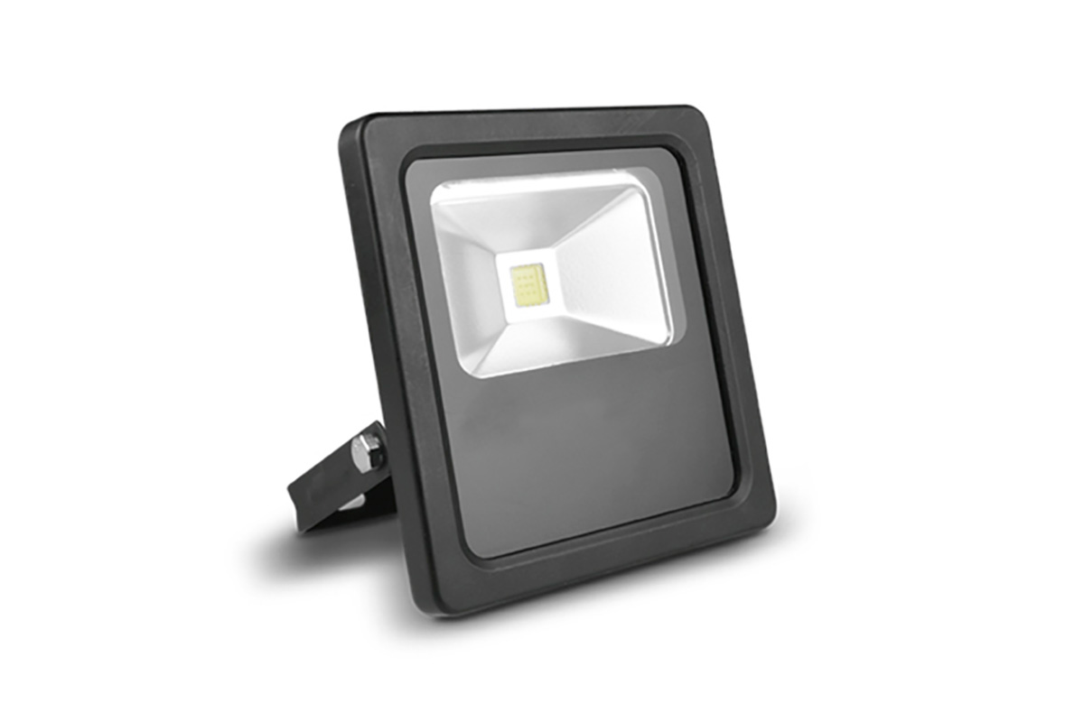 Reflector LED 10W color negro